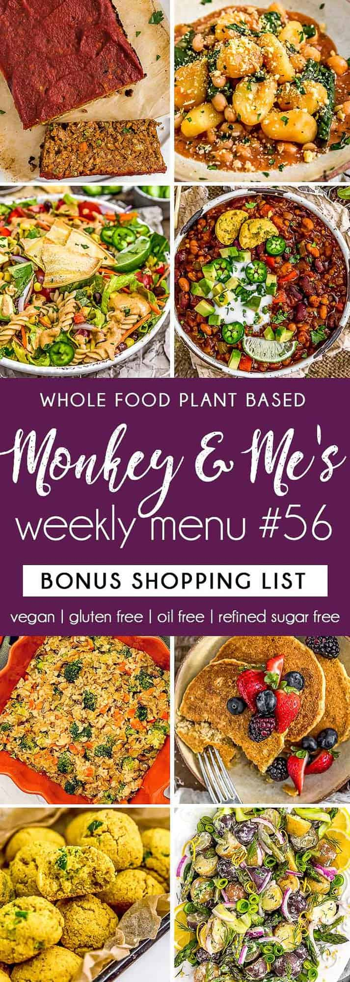 Monkey and Me's Menu 56 featuring 8 recipes