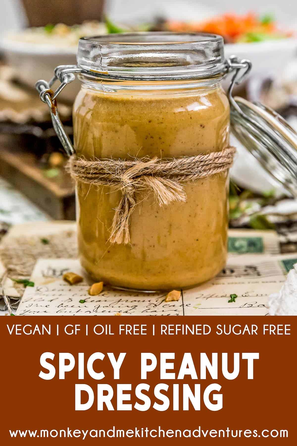 Spicy Peanut Dressing with text description