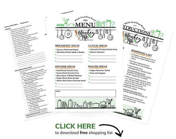Monkey and Me's Menu 54 PDF Display PDF Display