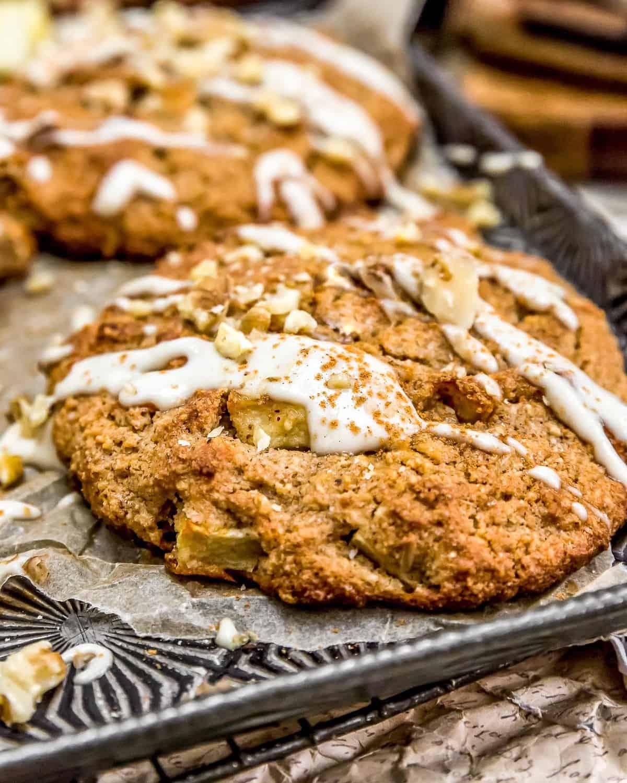 Apple Walnut Cookie Scones