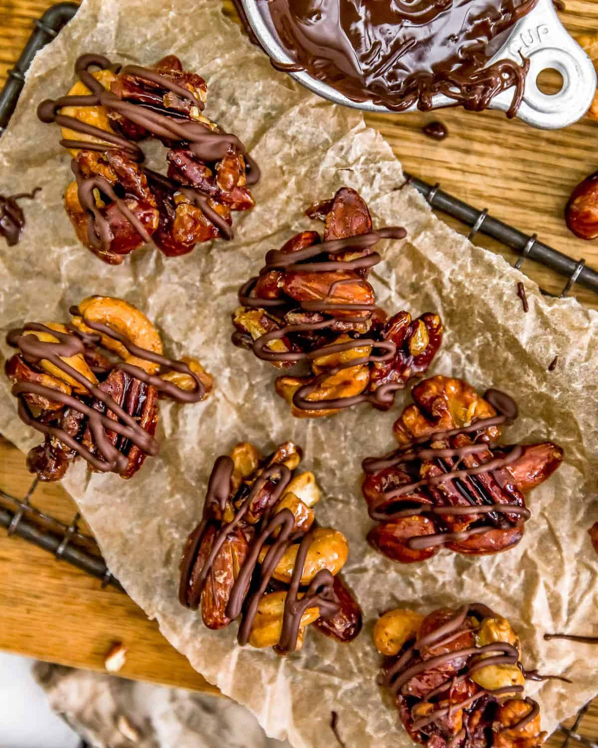 Maple Glazed Nut Clusters