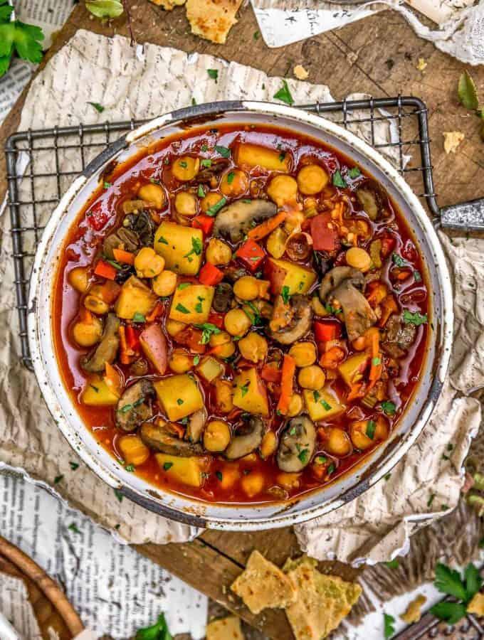 Vegan Spanish Zarzuela Stew