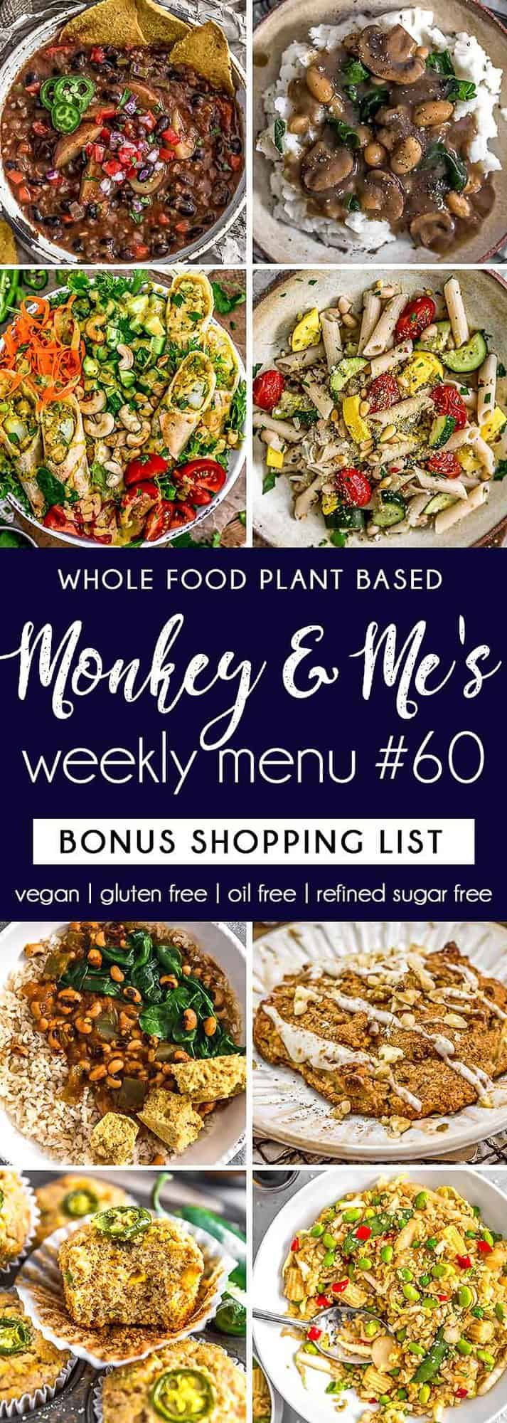 Monkey and Me's Menu 60 featuring 8 recipes
