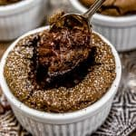 Eating Vegan Chocolate Molten Lava Soufflé