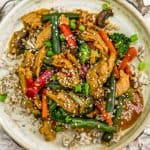 Vegan Spicy Honey Garlic Stir Fry