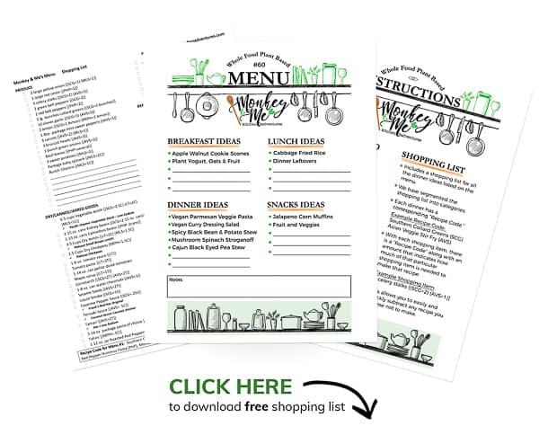 Monkey and Me's Menu 60 PDF Display PDF Display