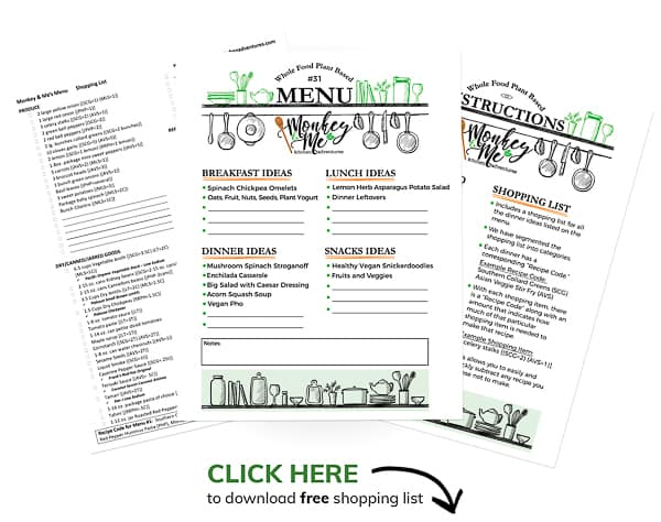 Monkey and Me's Menu 61 PDF Display PDF Display