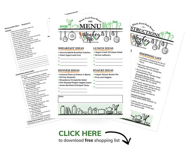 Monkey and Me's Menu 63 PDF Display PDF Display