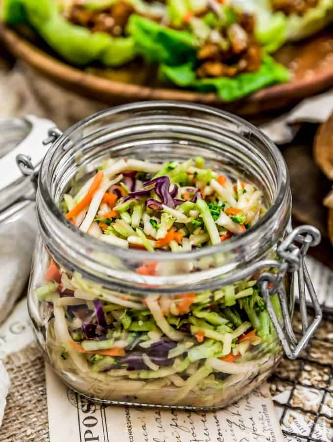 Fast and Easy Asian Slaw