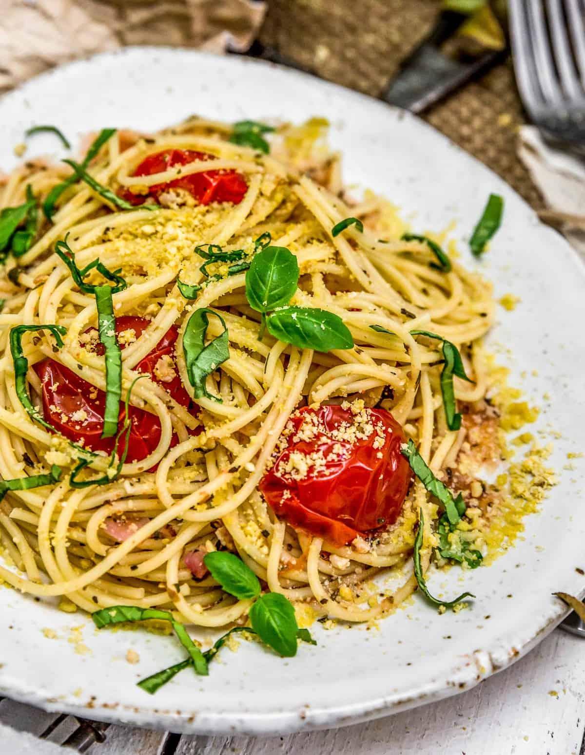 Italian Fresh Tomato Basil Pasta