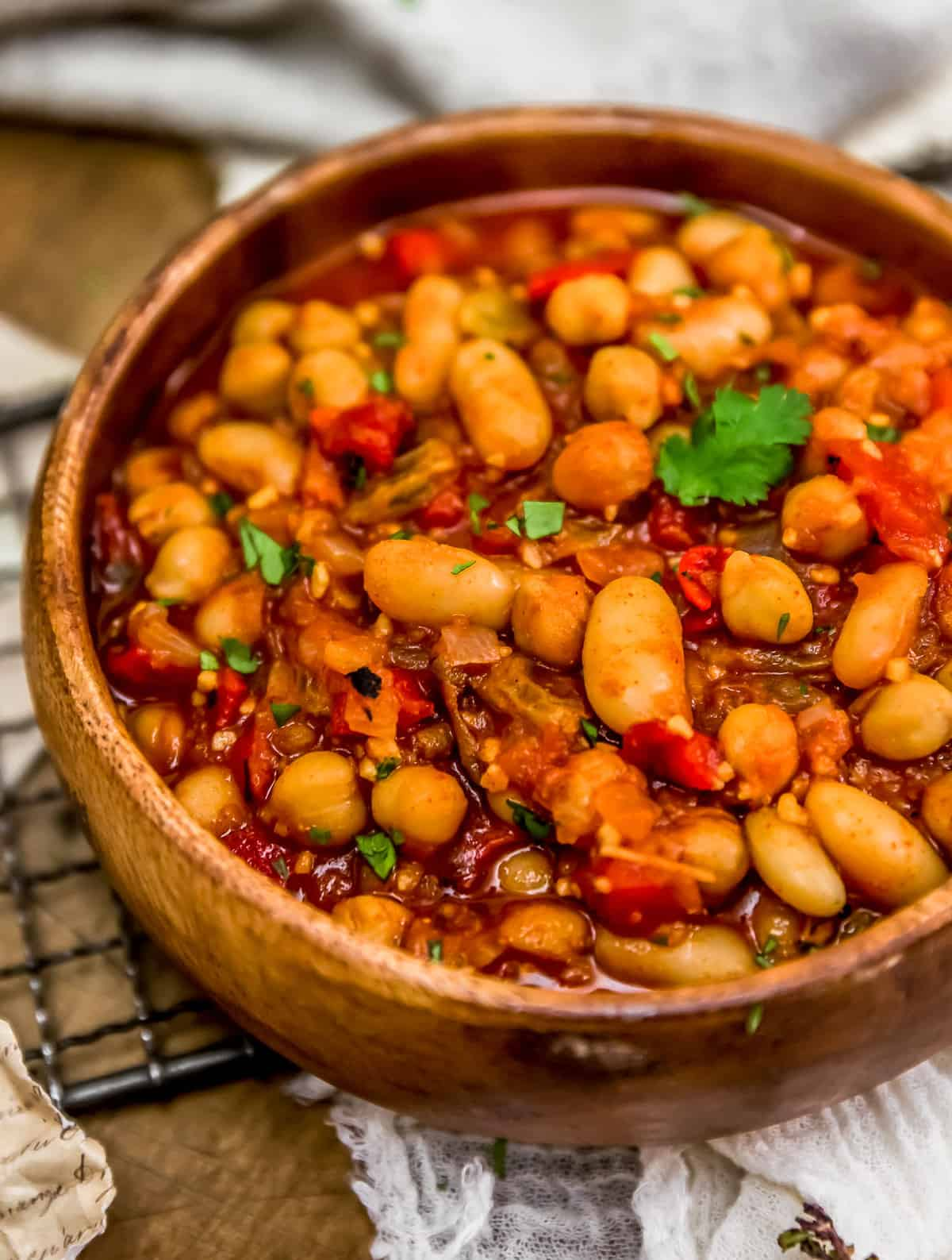 Moroccan Skillet Beans