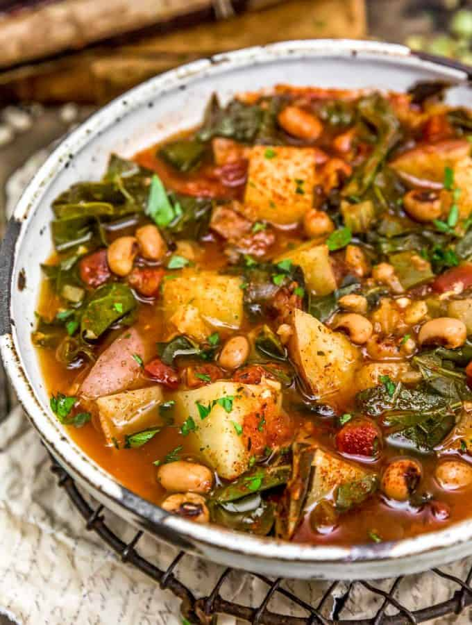 Southern Collard Green Potato Stew