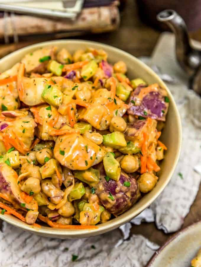 Vegan Buffalo Potato Salad