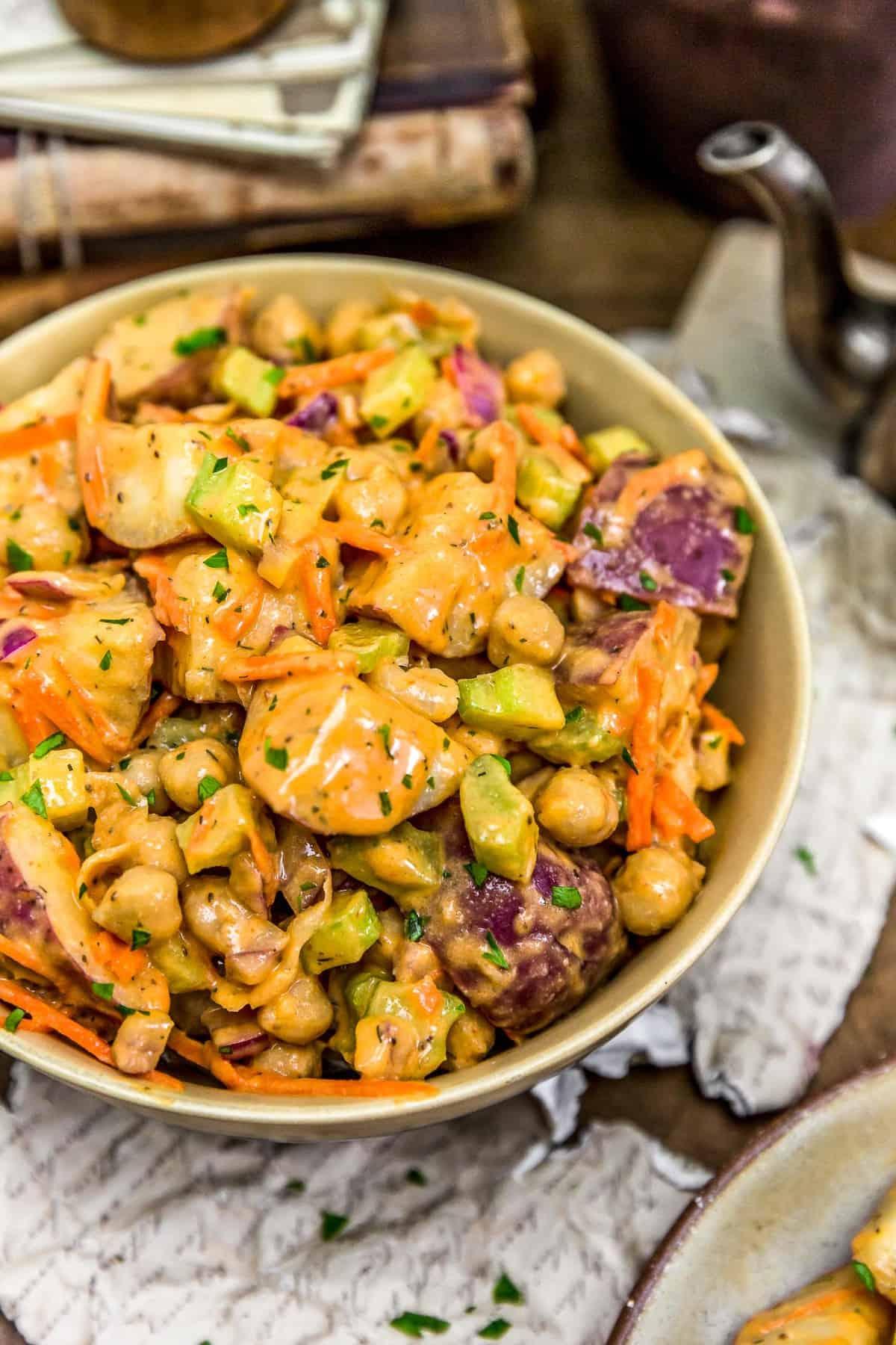 Vegan Buffalo Potato Salad