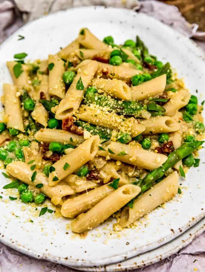 Vegan Carbonara Pasta
