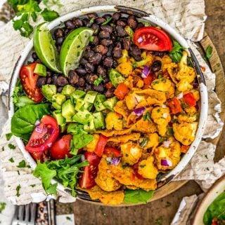 Bowl of Vegan Cauliflower Migas