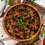 Bowl of Cuban Black Beans