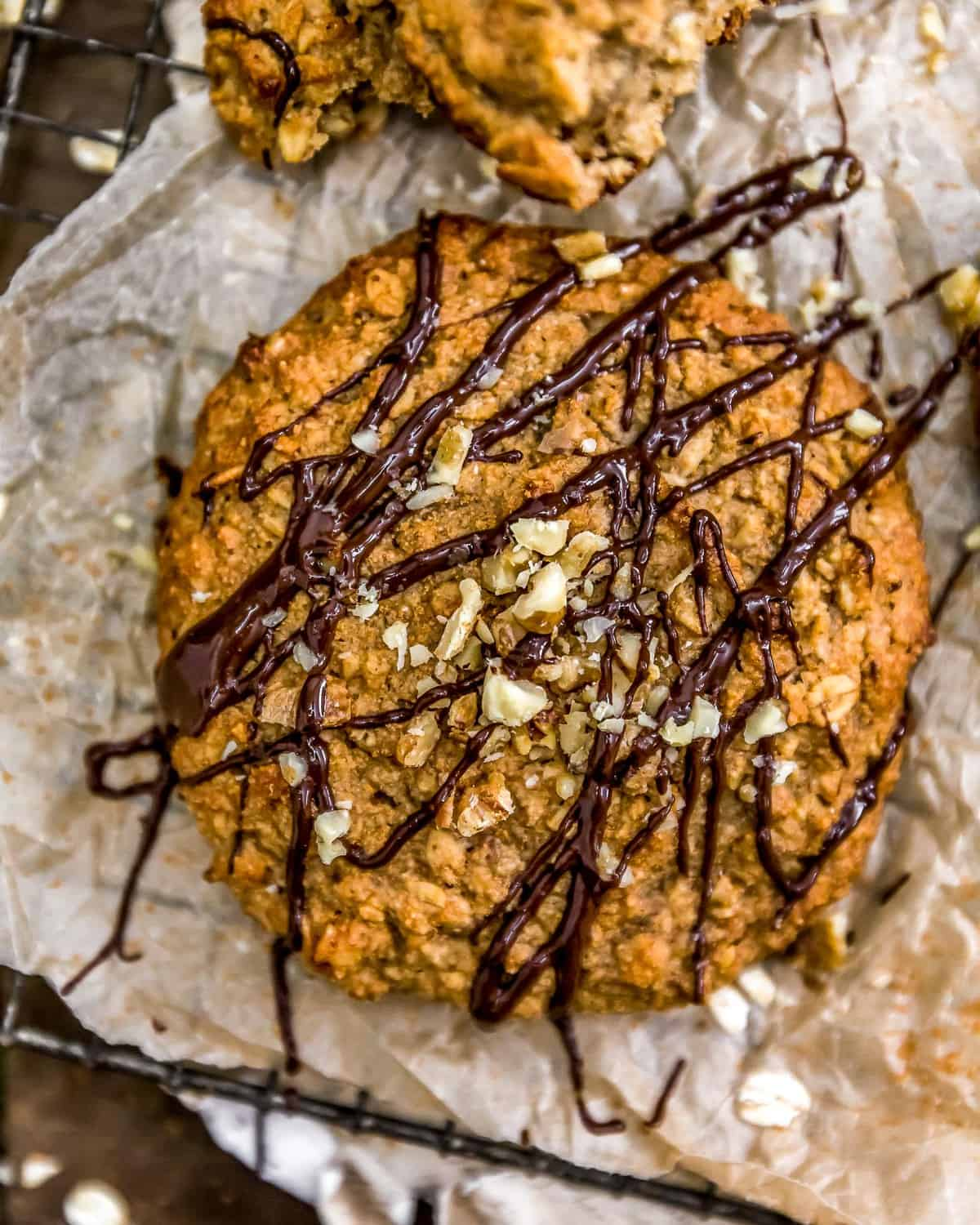 Peanut Butter Banana Cookie Scone