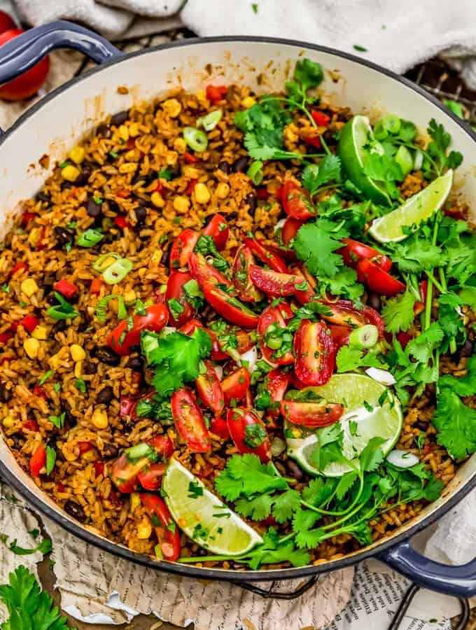 Tex-Mex Spicy Veggie Rice