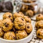 Vegan No-Bake Lactation Cookies
