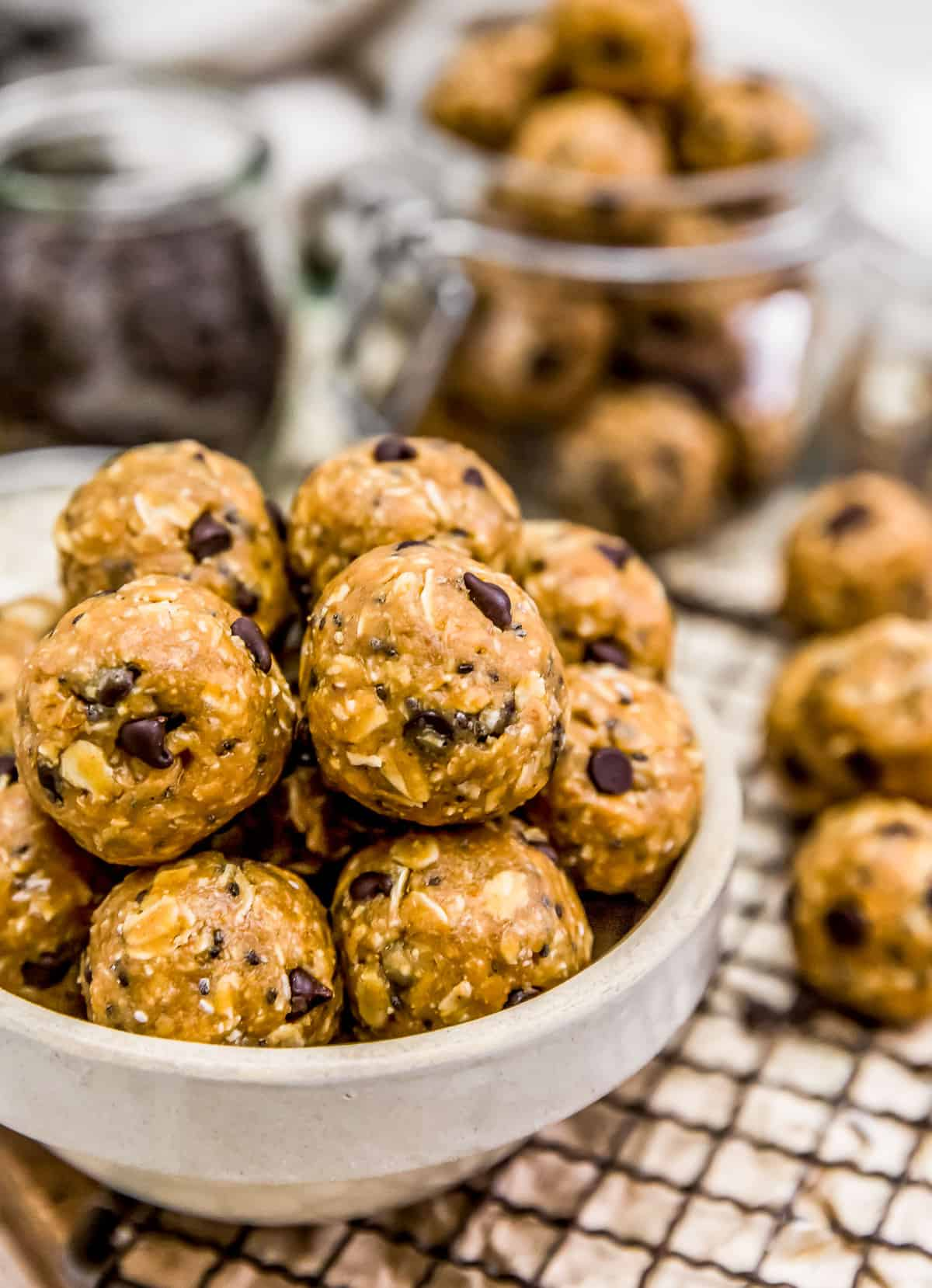 Vegan No-Bake Lactation Cookies