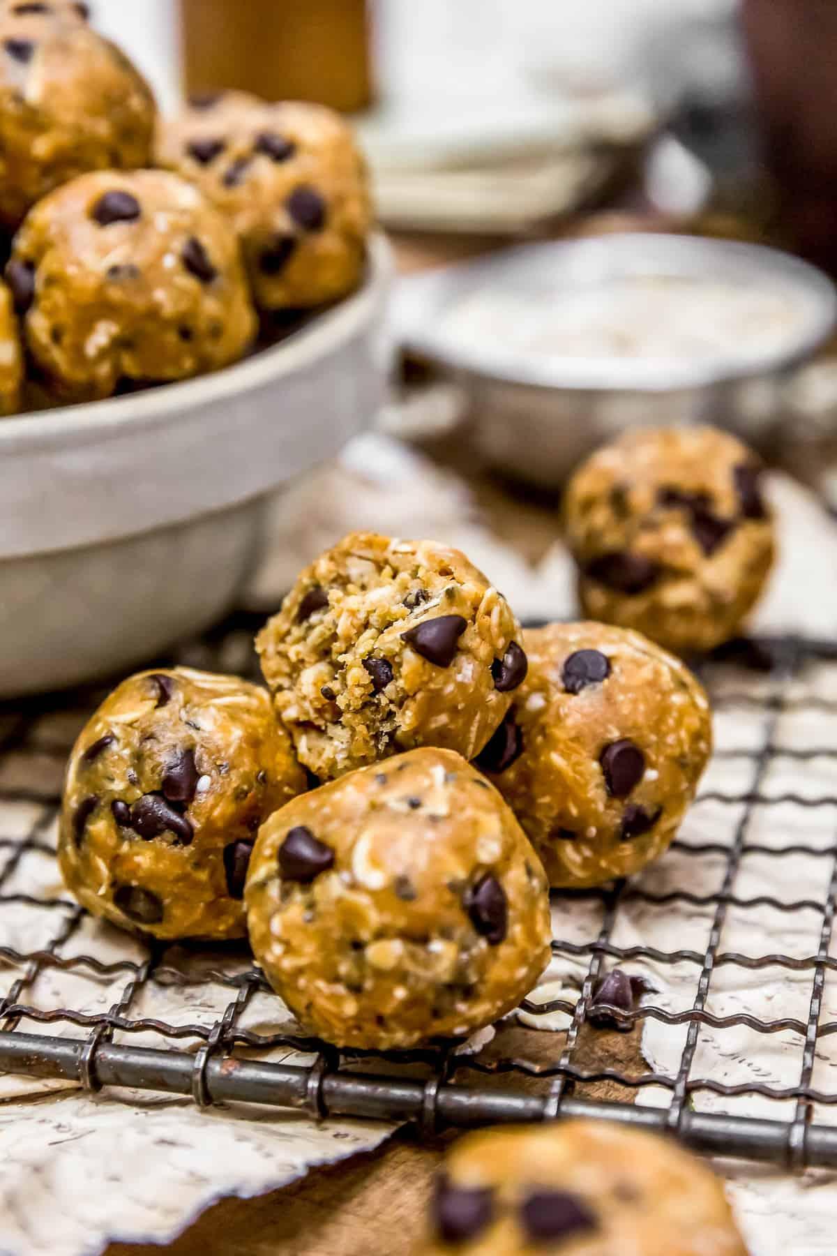 Bite of Vegan No-Bake Lactation Cookie