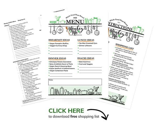 Monkey and Me's Menu 69 PDF Display PDF Display