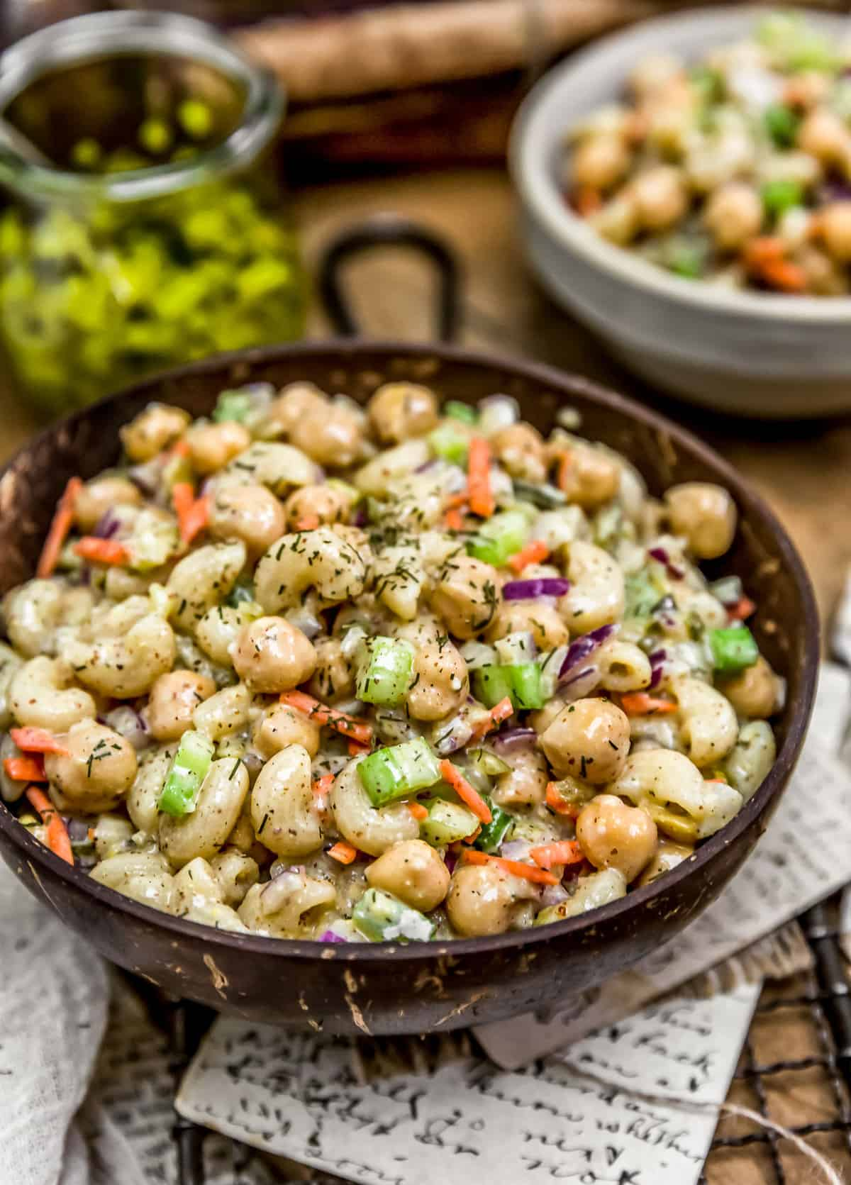 Vegan Pickle Macaroni Salad