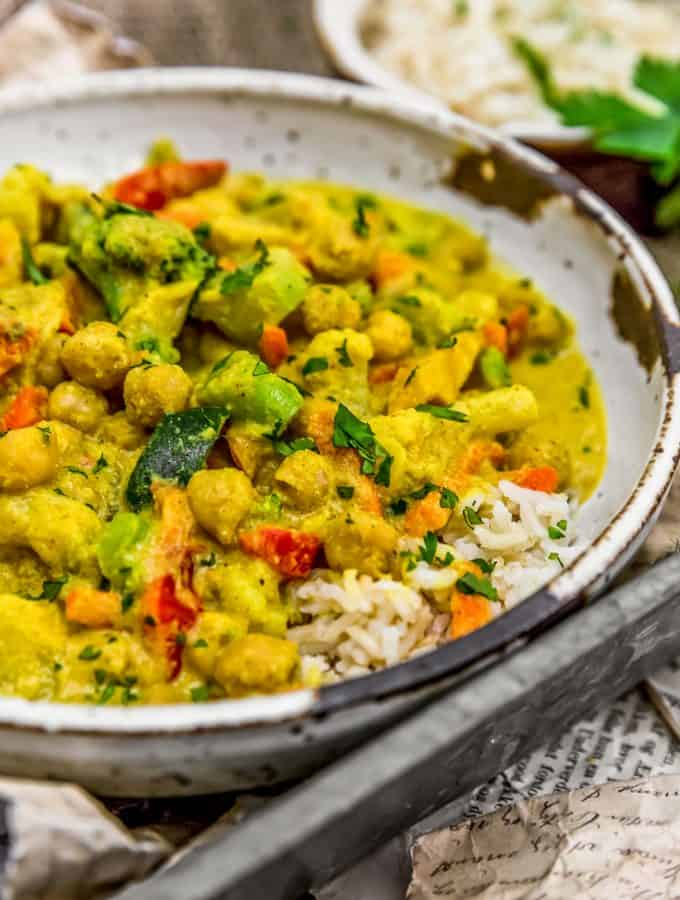 Easy Vegetable Korma