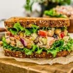 Harvest Chickpea Salad Sandwich