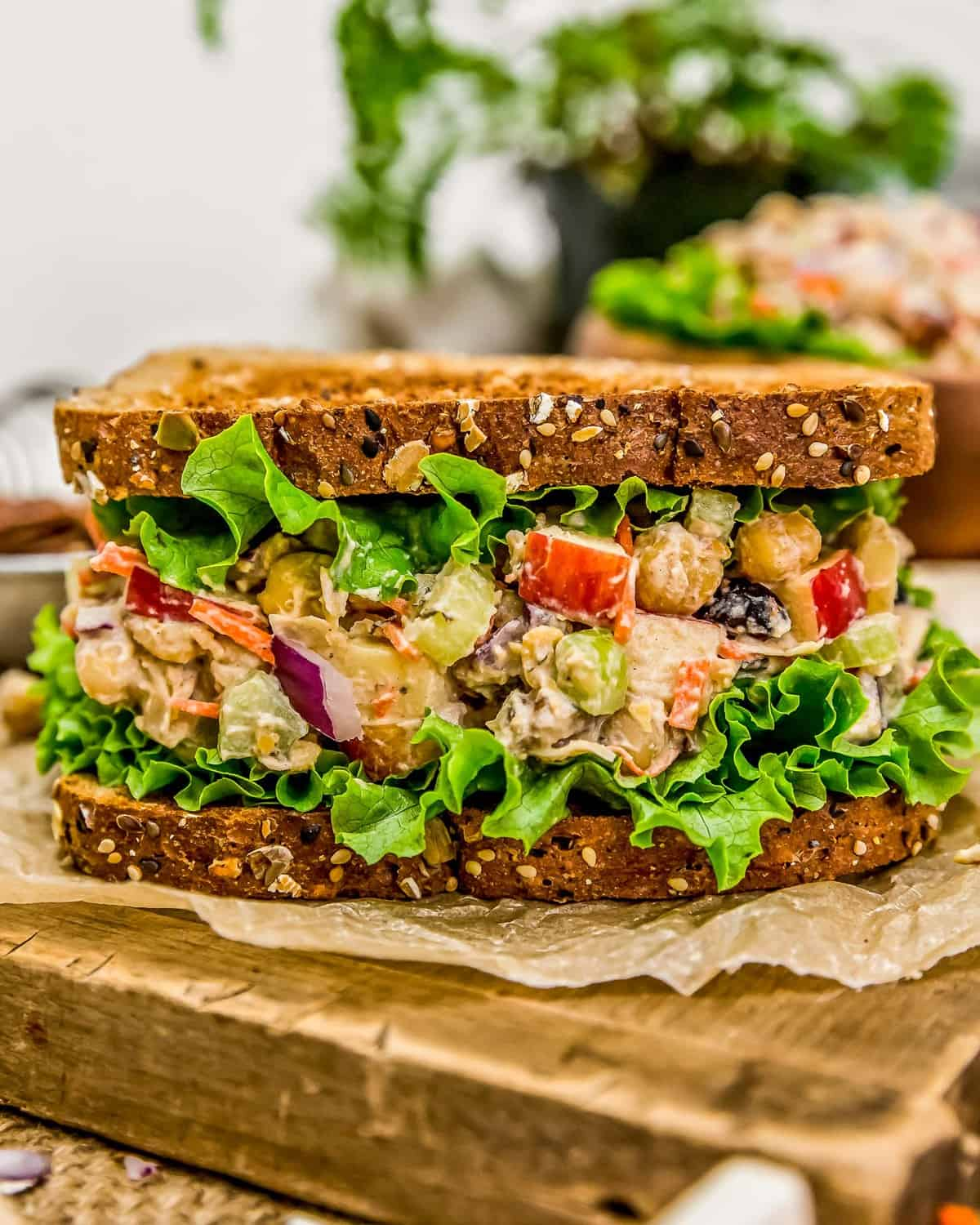 Harvest Chickpea Salad Sandwich
