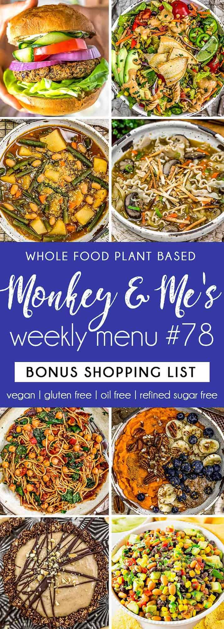 Monkey and Me's Menu 78 featuring 8 recipes