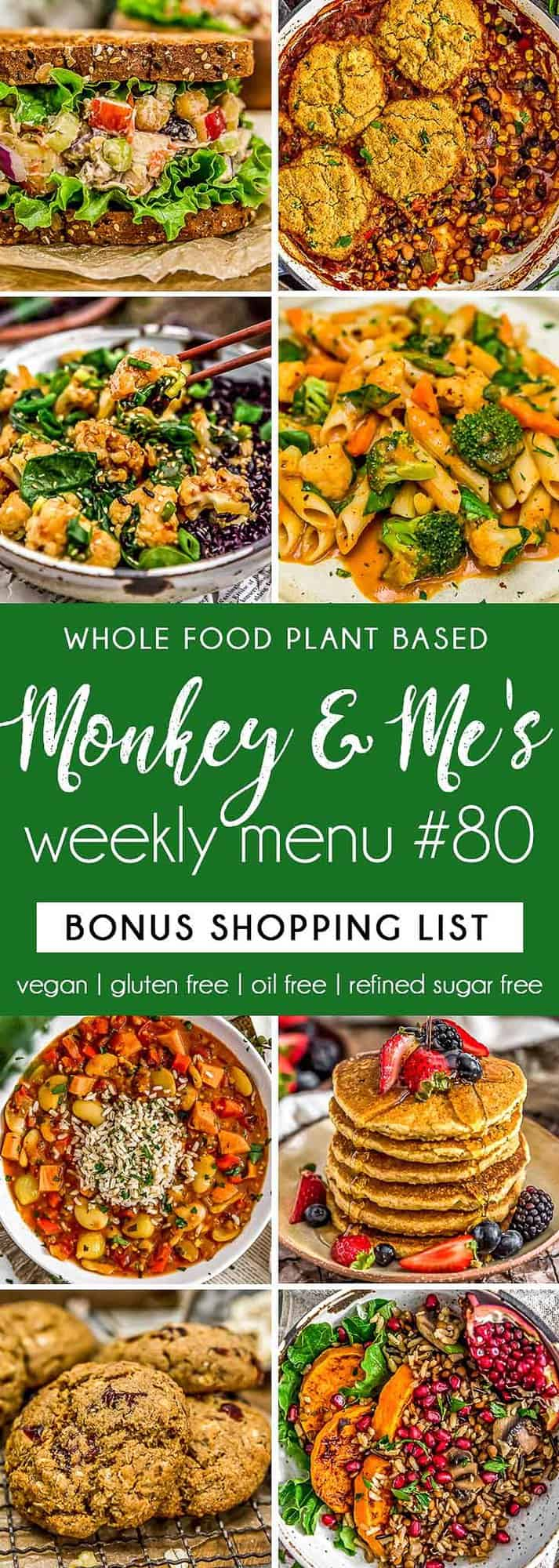 Monkey and Me's Menu 80 featuring 8 recipes