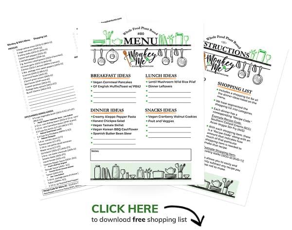 Monkey and Me's Menu 80 PDF Display PDF Display