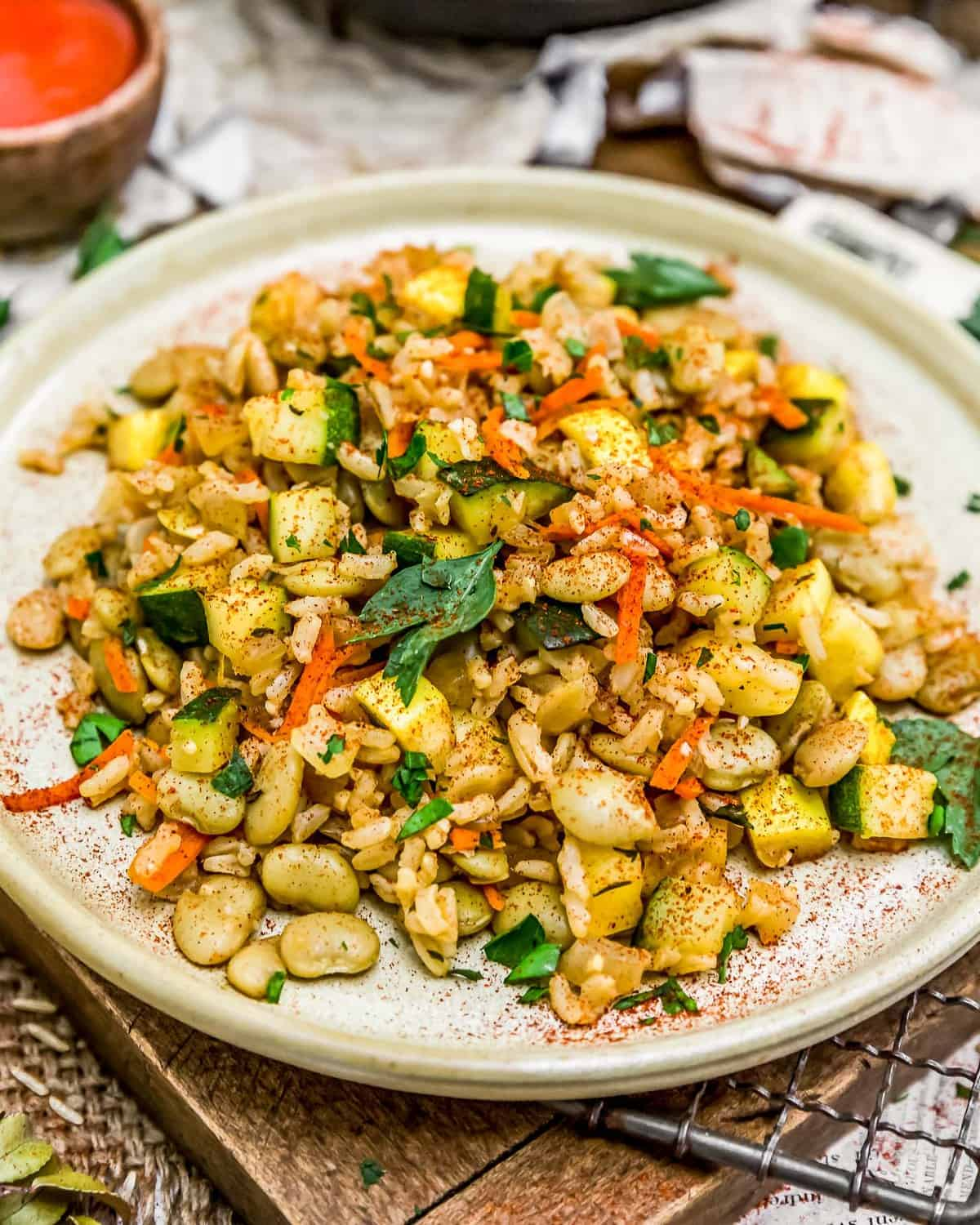 Country Lima Bean Fried Rice