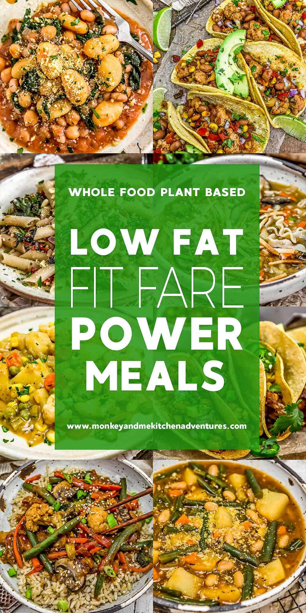 Low Fat Fit Fare Power Meals with text description