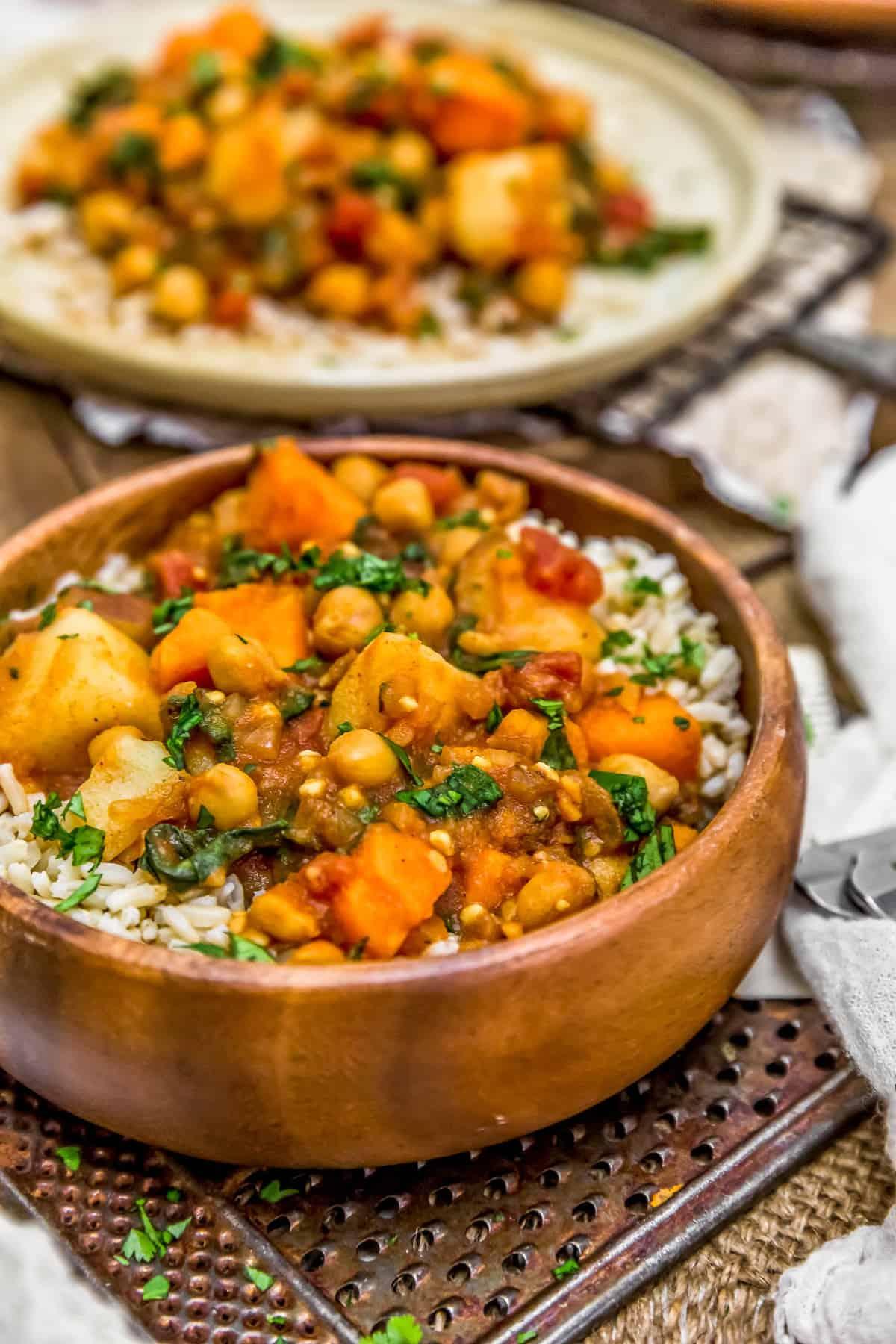 Bowl of Potato Vindaloo