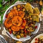 Bowl of Moroccan Mushroom Tagine