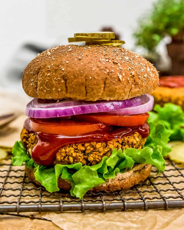 Vegan Italian Burger