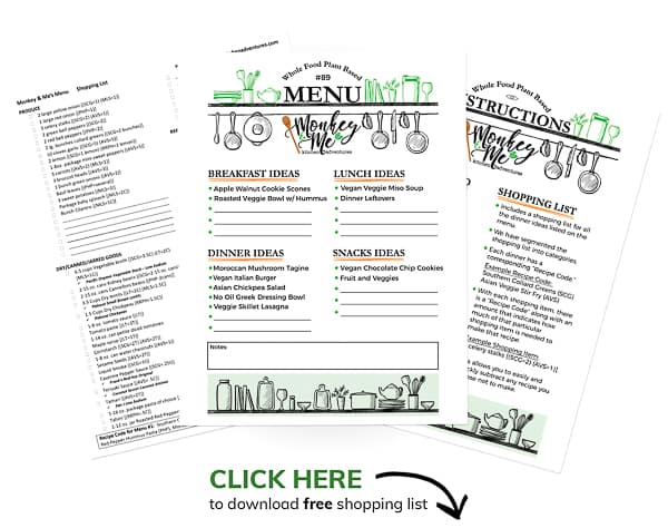 Monkey and Me's Menu 89 PDF Display