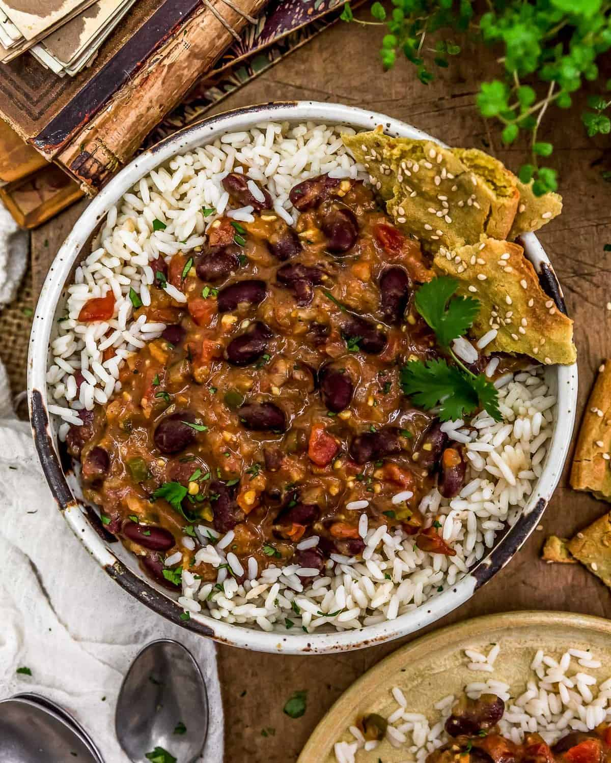 Bowl of Easy Kidney Bean Curry
