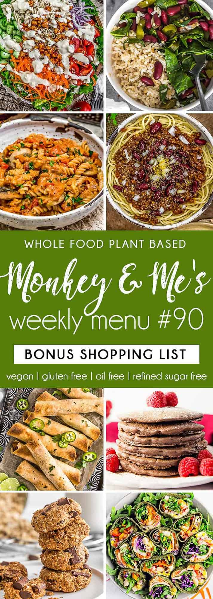 Monkey and Me's Menu 90 featuring 8 recipes