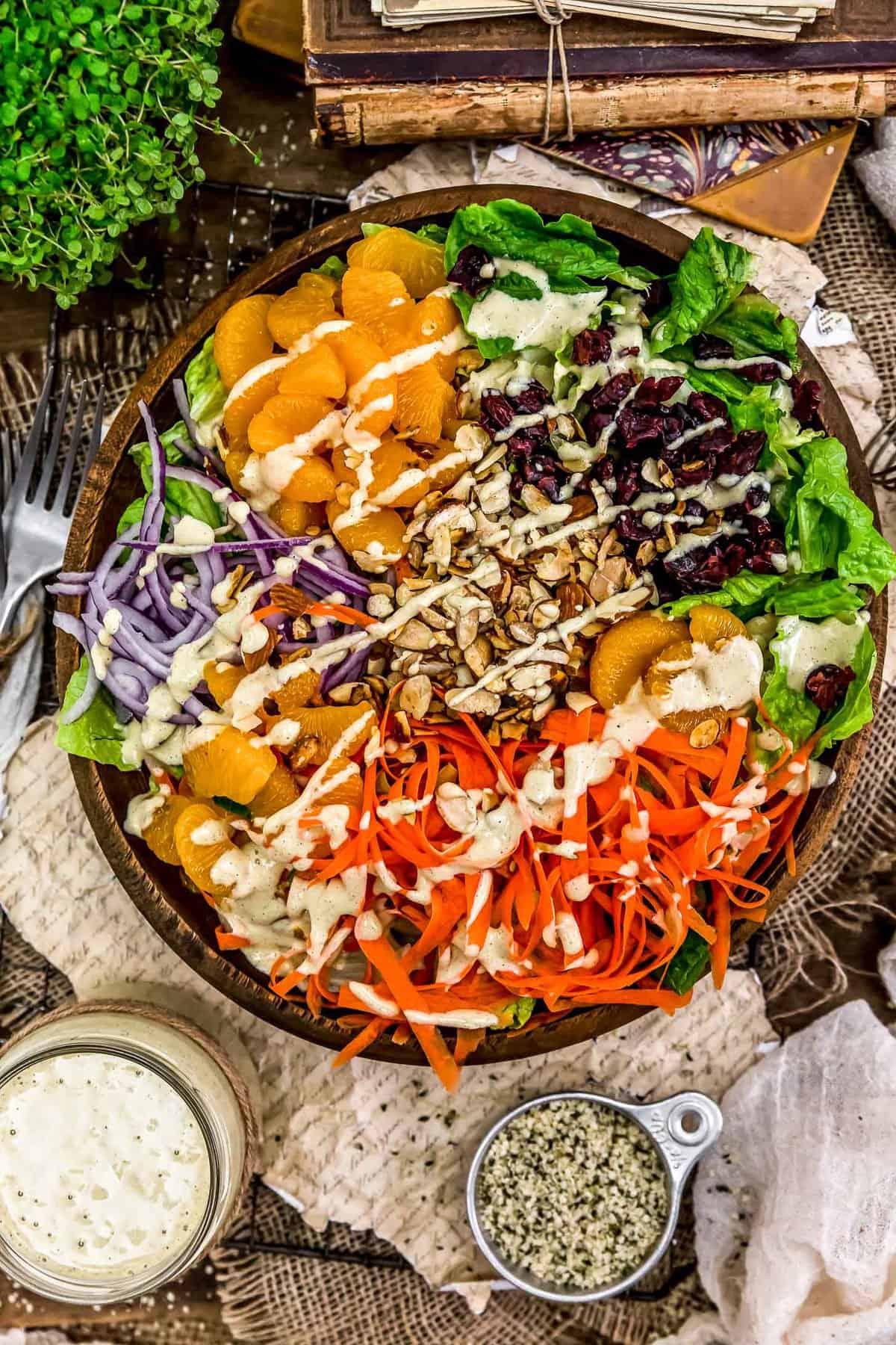 Salad with Citrus Hemp Dressing