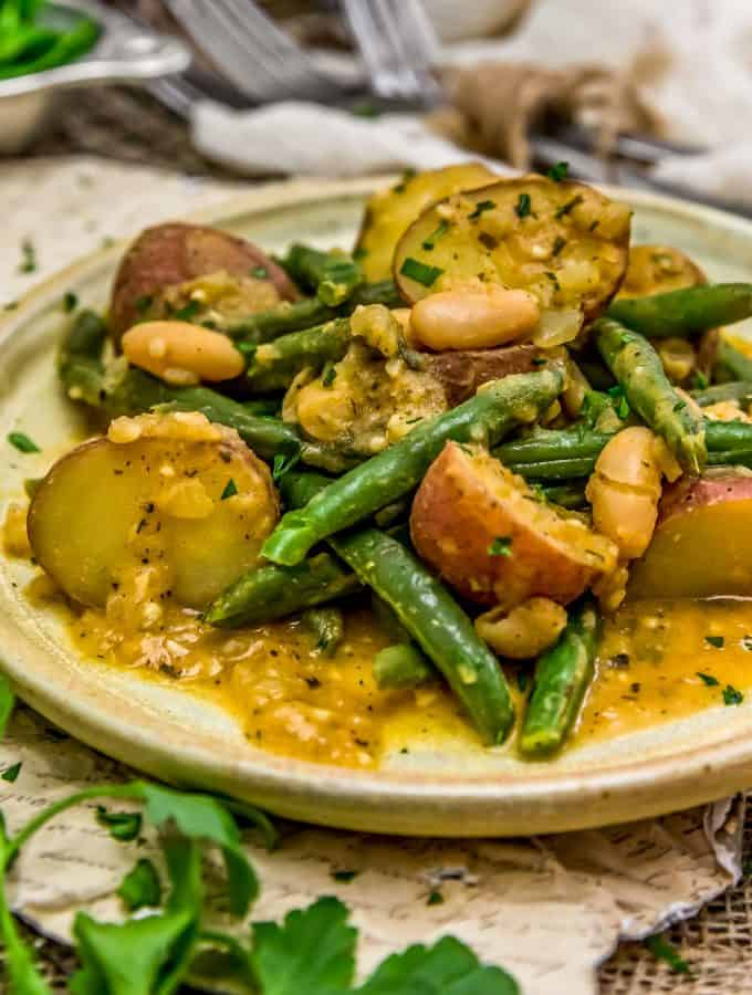 Country Ranch Green Beans and Potato
