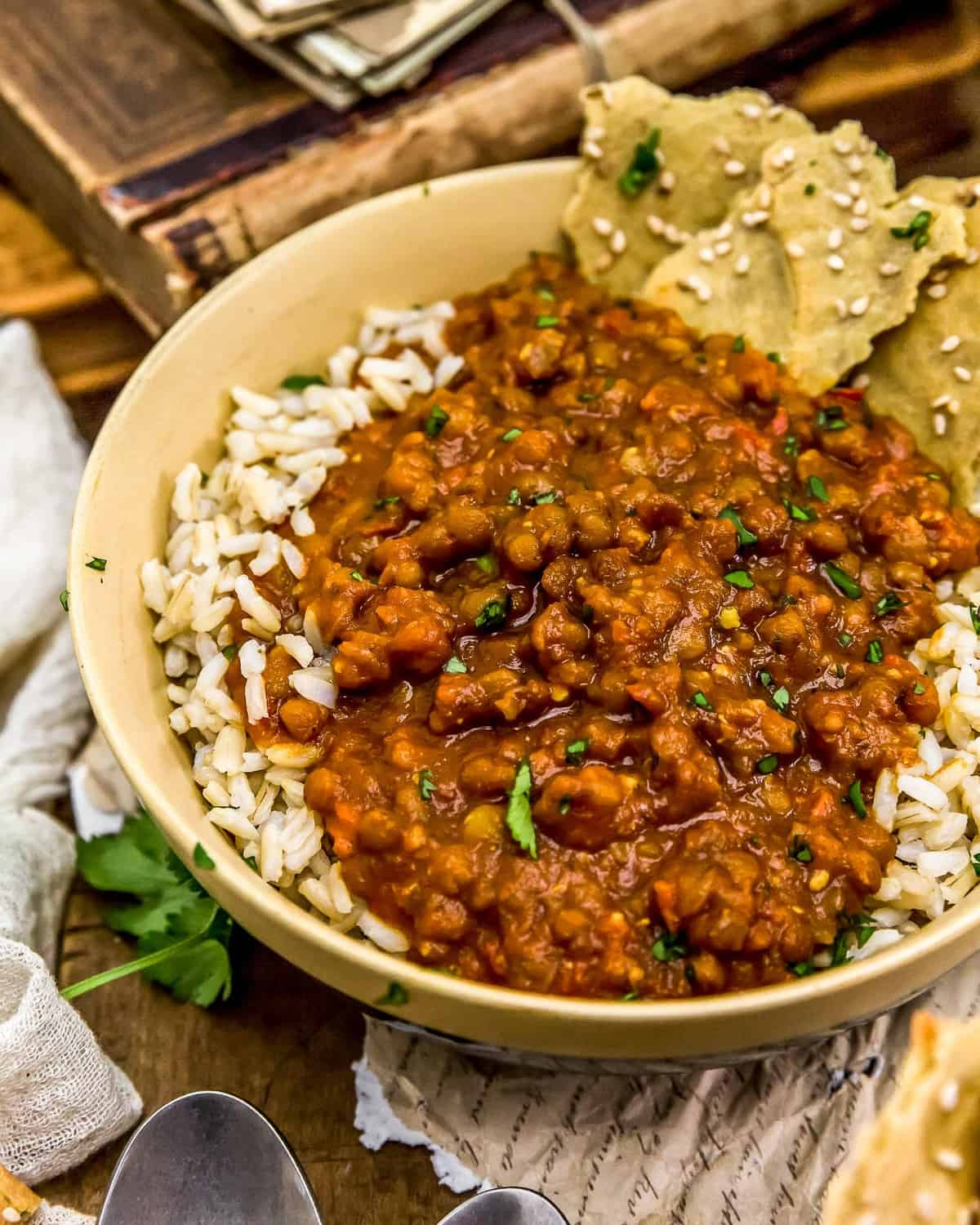 Bowl of Creamy Lentil Curry