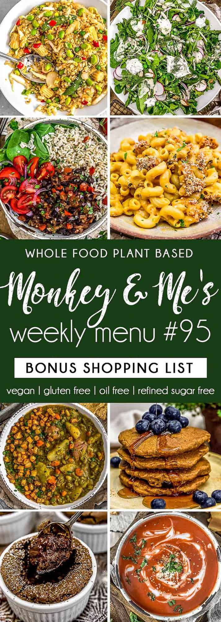 Monkey and Me's Menu 95 featuring 8 recipes