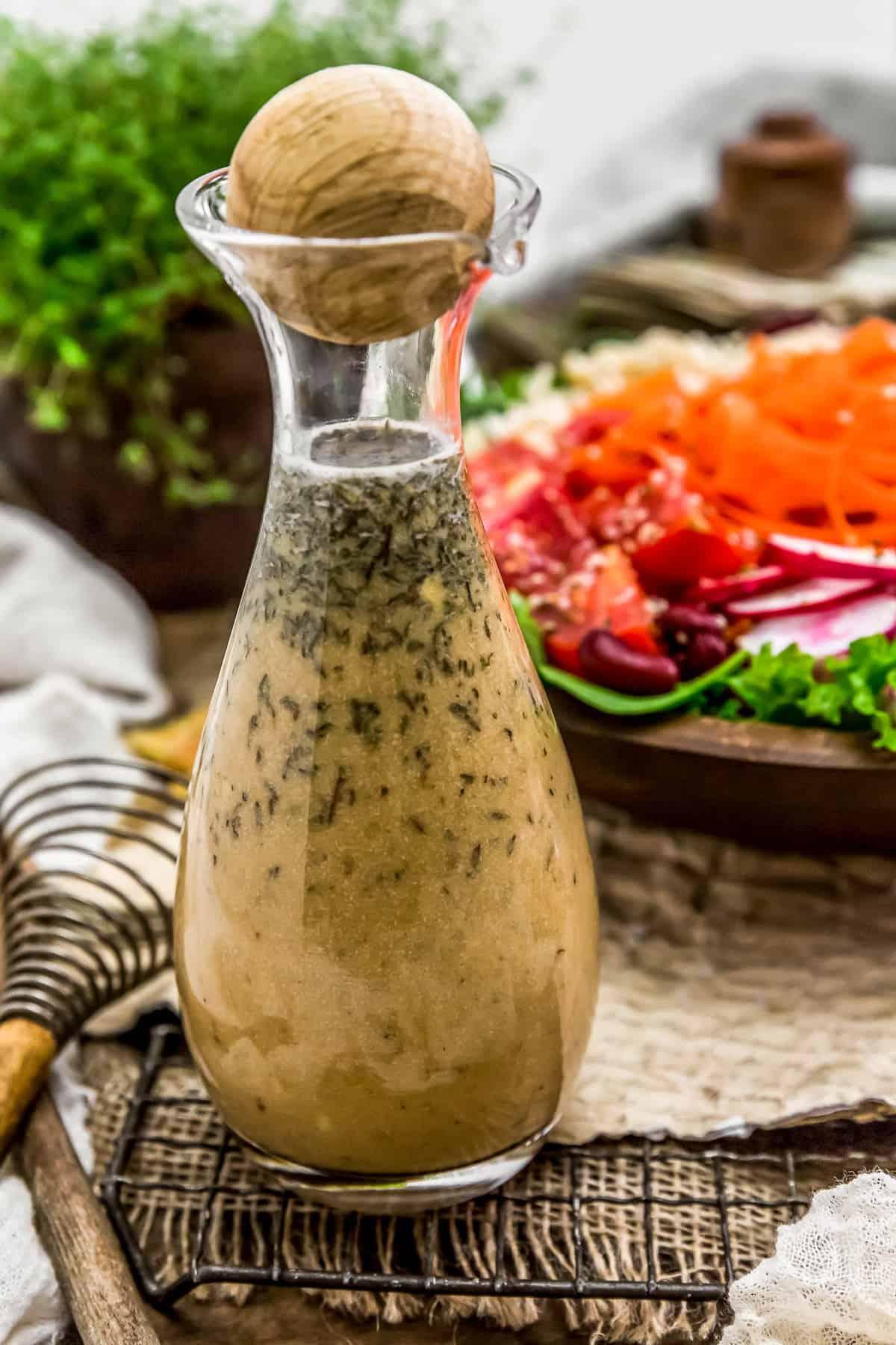 Bottle of Oil Free Herb Vinaigrette