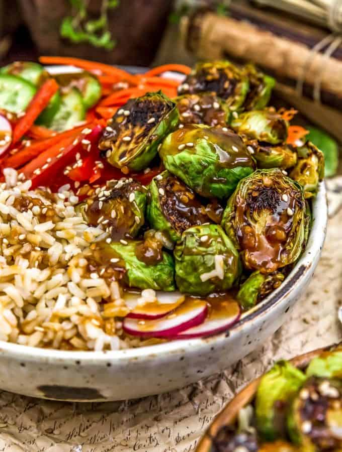 Teriyaki Brussels Sprouts