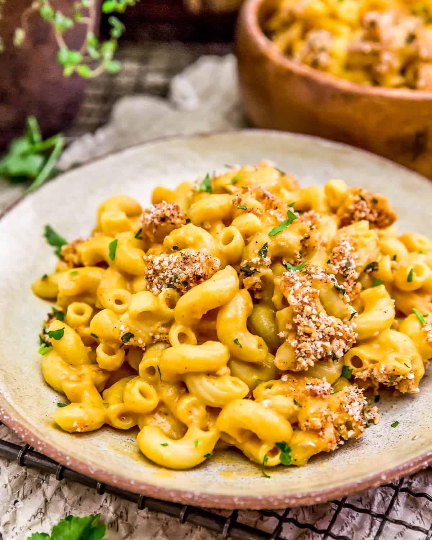 Vegan Cauliflower Mac and Cheese