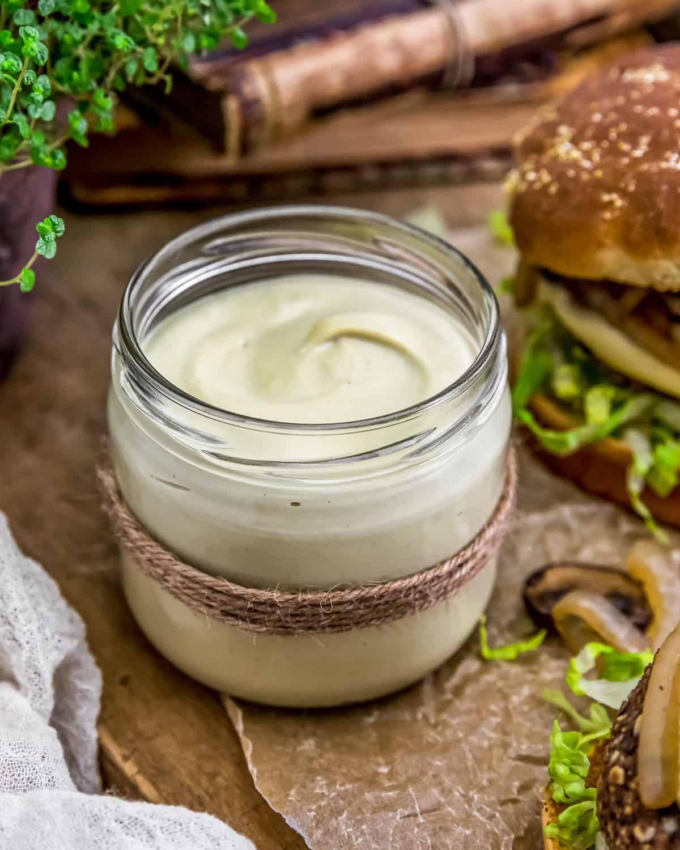Vegan Tangy White Cheese Sauce